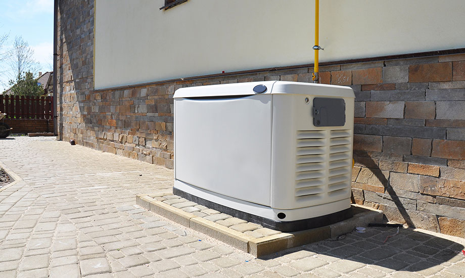 big backup generator for house or building