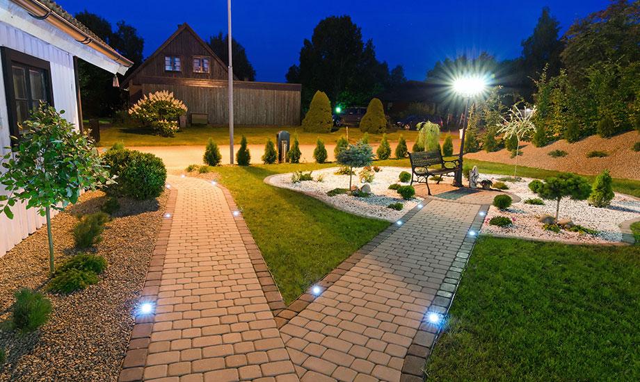 home garden lighting