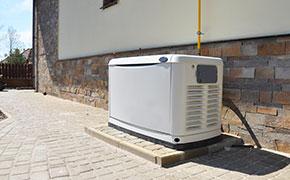 big backup generator for house or building