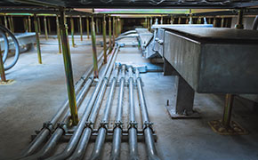 pipe of electricity line for electrical conduits system